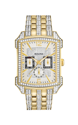 Bulova Crystal Watch 98C109