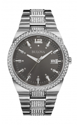 Bulova Crystal Watch 96B221