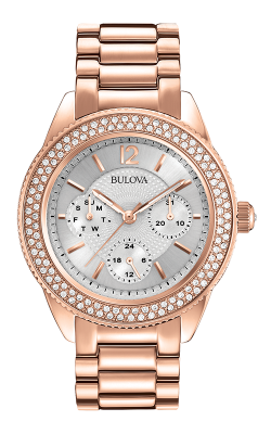 Bulova Crystal Watch 97N101