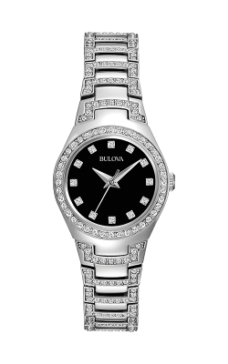 Bulova Crystal Watch 96l170
