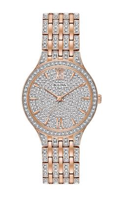 Bulova Crystal Watch 98L235
