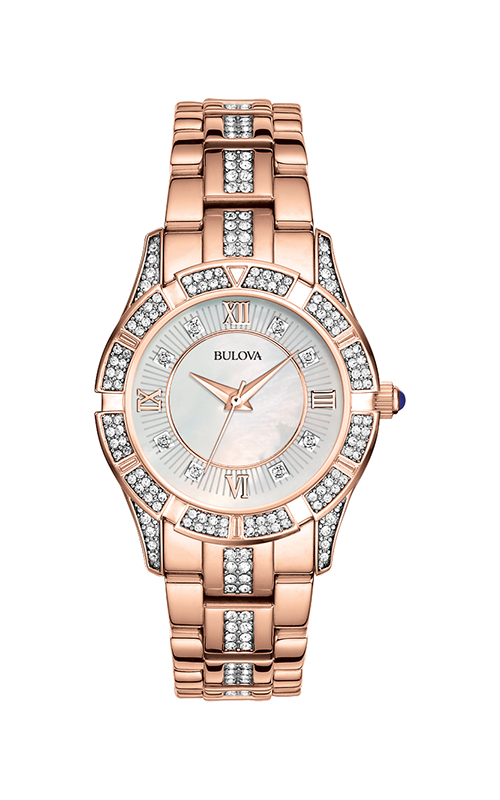 Bulova Crystal Watch 98L197 product image