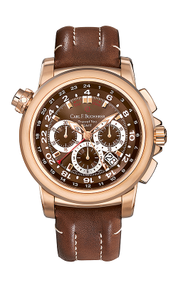 Carl F Bucherer TravelTec Watch 00.10620.03.93.01 product image