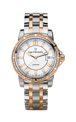 Carl F Bucherer AutoDate TwoTone Watch 00-10621-07-23-31 product image