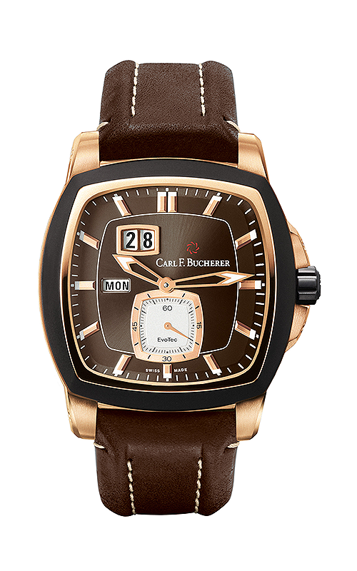 Carl F Bucherer EvoTec DayDate Watch 00-10625-15-93-01 product image