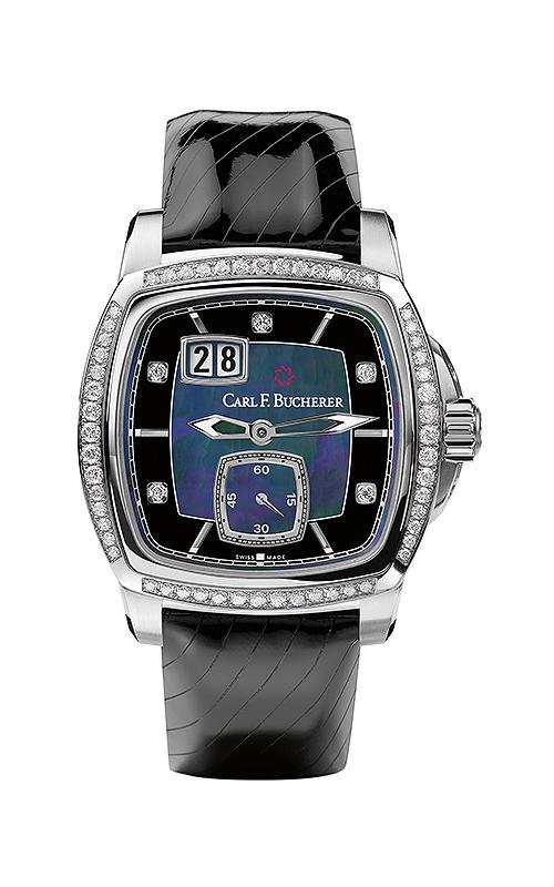 Carl F Bucherer EvoTec BigDate Watch 00-10628-08-87-11 product image