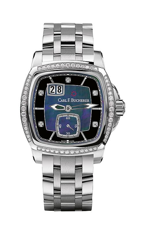 Carl F Bucherer EvoTec BigDate Watch 00.10628.08.87.31 product image