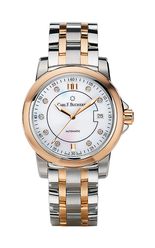 Carl F Bucherer AutoDate TwoTone Watch 00.10617.07.77.21 product image