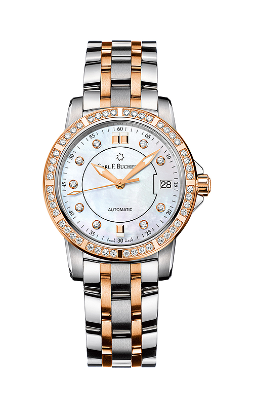Carl F Bucherer AutoDate TwoTone Watch 00.10621.07.77.31 product image