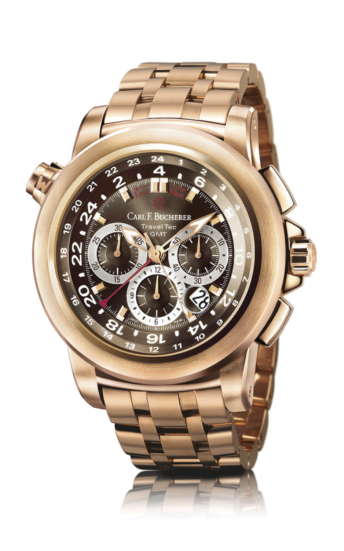 Carl F Bucherer TravelTec Watch 00-10620-03-93-21 product image