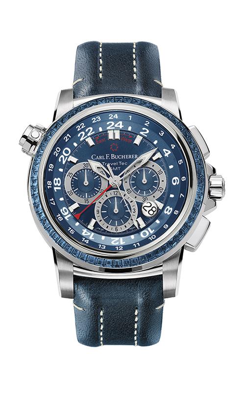 Carl F Bucherer TravelTec Watch 00-10620-05-53-12 product image
