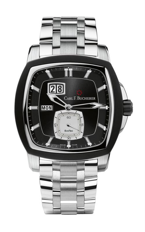 Carl F Bucherer EvoTec DayDate Watch 00-10625-13-33-21 product image