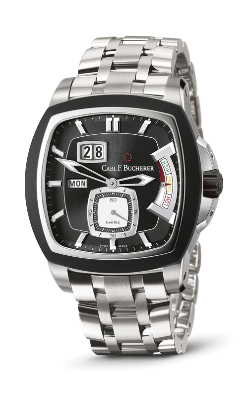Carl F Bucherer EvoTec PowerReserve Watch 00-10627-13-33-21 product image