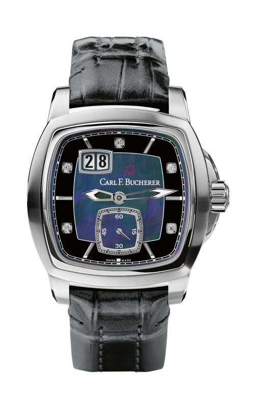 Carl F Bucherer EvoTec BigDate Watch 00-10628-08-87-01 product image
