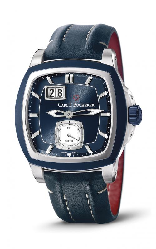 Carl F Bucherer EvoTec BigDate Watch 00-10628-13-53-01 product image