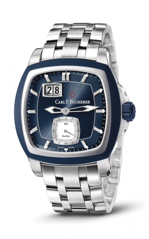 Carl F Bucherer EvoTec BigDate Watch 00-10628-13-53-21 product image