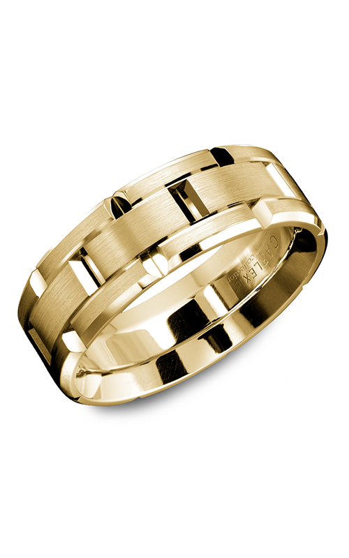 Carlex G1 Men's Wedding Band WB-9316Y product image