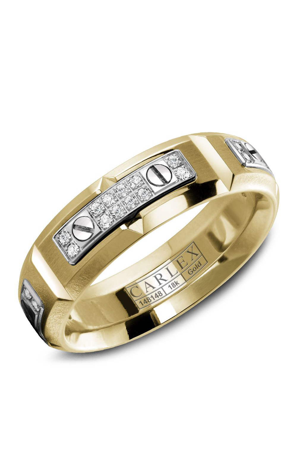 Carlex G2 Men's Wedding Band WB-9587WY product image