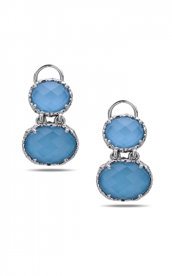 Charles Krypell Sterling Silver Earrings 1-6946-TQ product image