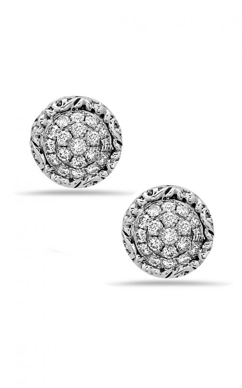 Charles Krypell Sterling Silver Earrings 1-6944-SWHTP product image