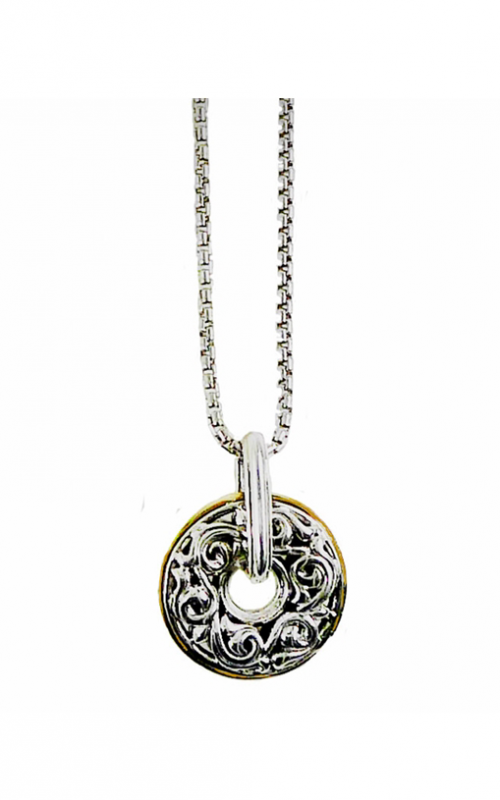Charles Krypell Sterling Silver Necklace 4-6880-SGCIRCLE product image