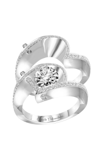 Claude Thibaudeau Pure Perfection Engagement Ring PLT-1940-MP product image