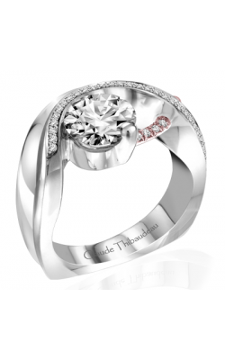 Claude Thibaudeau Pure Perfection Engagement Ring PLT-10010R-MP product image