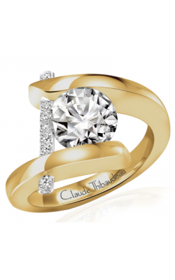 Claude Thibaudeau Pure Perfection Engagement Ring PLT-265-MP product image