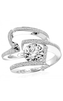 Claude Thibaudeau Pure Perfection Engagement Ring PLT-1837-MP product image