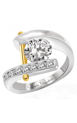 Claude Thibaudeau Pure Perfection Engagement Ring PLT-1721 product image