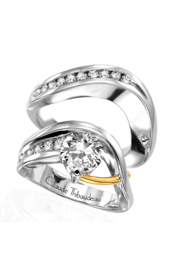 Claude Thibaudeau Pure Perfection Engagement Ring PLT-1044 product image