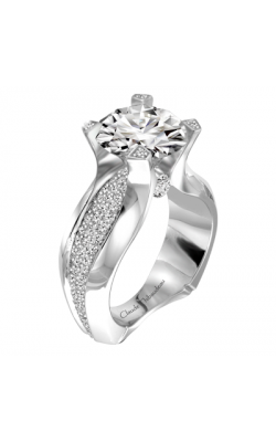 Claude Thibaudeau La Royale Engagement Ring PLT-1868-MP product image