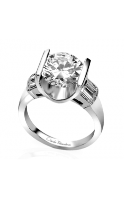 Claude Thibaudeau La Cathedrale Engagement Ring PLT-1253 product image