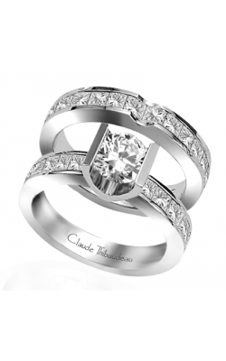 Claude Thibaudeau La Cathedrale Engagement Ring PLT-1335 product image