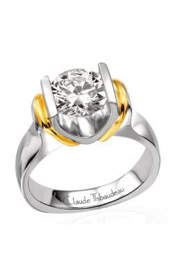 Claude Thibaudeau La Cathedrale Engagement Ring PLT-1578 product image