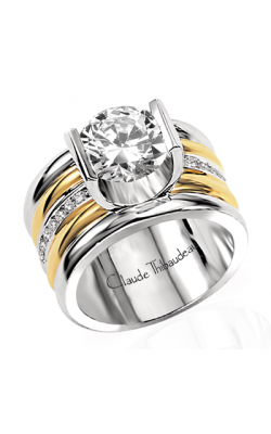 Claude Thibaudeau La Cathedrale Engagement Ring PLT-1249 product image