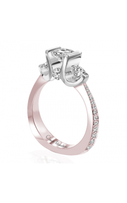 Claude Thibaudeau La Trinite Engagement ring PLT-7644RW-MP product image