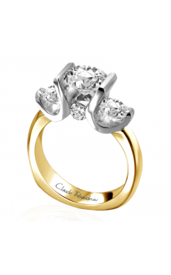 Claude Thibaudeau La Trinite Engagement Ring PLT-2645 product image
