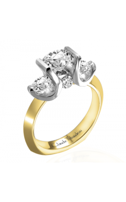 Claude Thibaudeau La Trinite Engagement Ring PLT-2705 product image