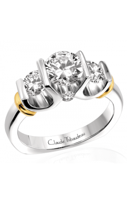 Claude Thibaudeau La Trinite Engagement Ring PLT-1547 product image