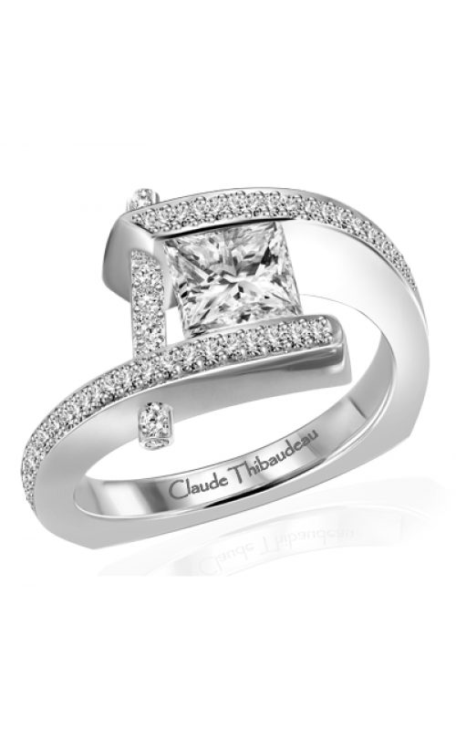 Claude Thibaudeau Pure Perfection Engagement ring PLT-10023-MP product image