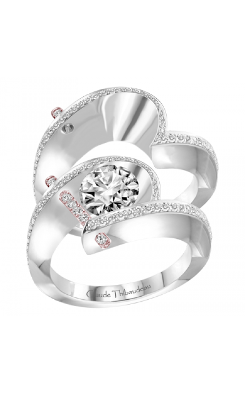 Claude Thibaudeau Pure Perfection Engagement ring PLT-1940R-MP product image