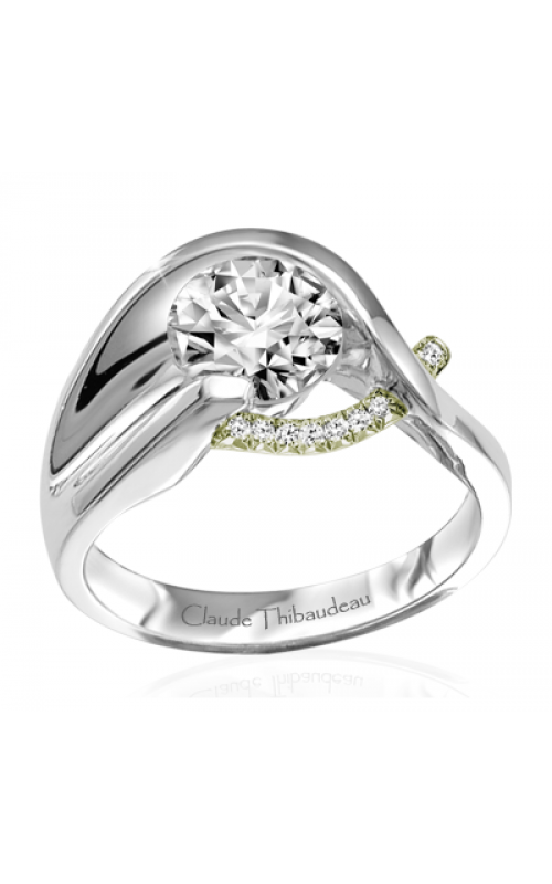 Claude Thibaudeau Pure Perfection Engagement ring PLT-1861V-MP product image