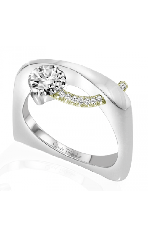 Claude Thibaudeau Pure Perfection Engagement ring PLT-1862V-MP product image