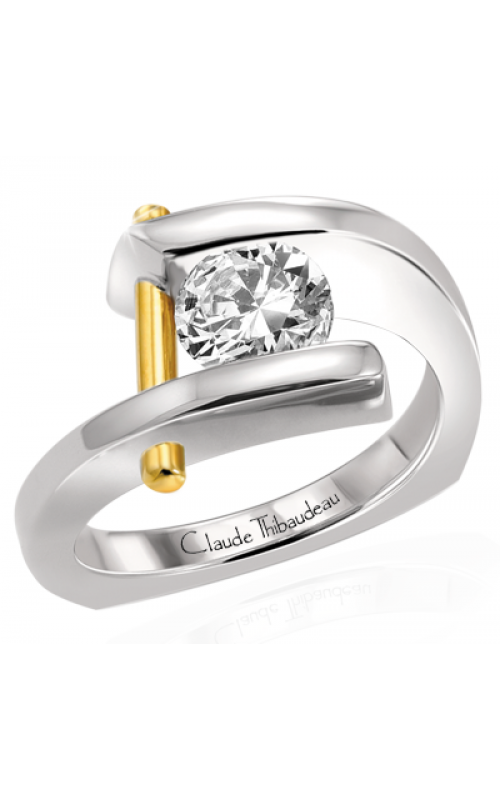 Claude Thibaudeau Pure Perfection Engagement ring PLT-1626 product image