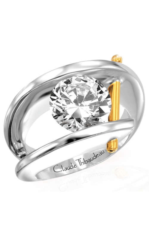 Claude Thibaudeau Pure Perfection Engagement ring PLT-1072 product image