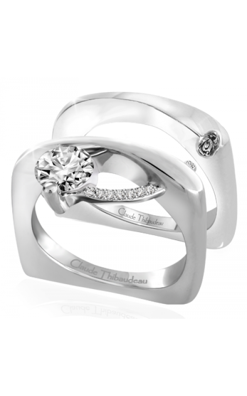 Claude Thibaudeau Pure Perfection Engagement ring PLT-12-MP product image