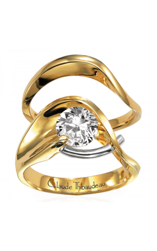 Claude Thibaudeau Pure Perfection Engagement ring PLT-221 product image