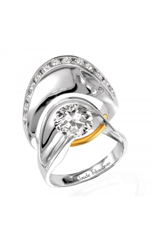 Claude Thibaudeau Pure Perfection Engagement ring PLT-135 product image