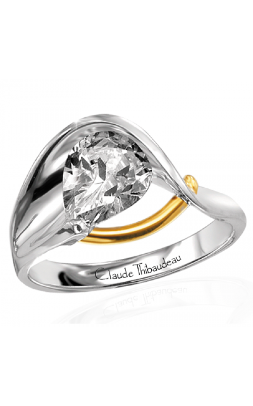 Claude Thibaudeau Pure Perfection Engagement ring PLT-134 product image